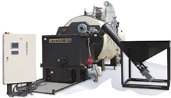 SMWB-P500 WOOD PELLET STEAM BOILER SSANGMA