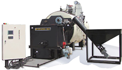 SMWB-P3000 WOOD PELLET STEAM BOILER